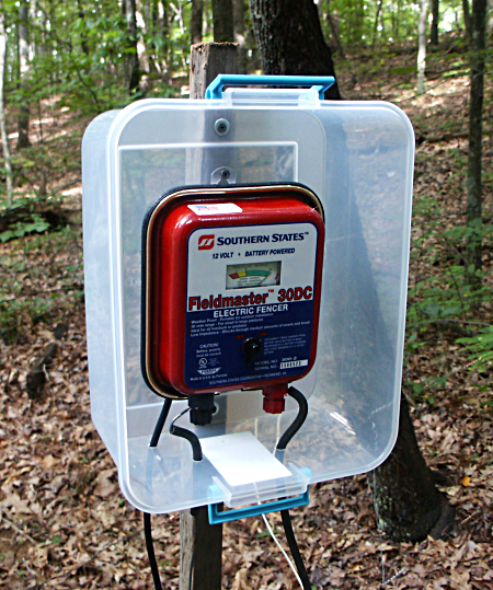 Replacing The Electric Fence Charger
